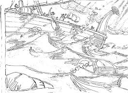 coloring pages jonah and the whale