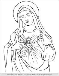 mary archives page 2 of 2 the catholic kid catholic coloring