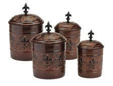 canister sets kitchen metal kitchen canister sets ebay