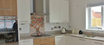 Kitchen Splashback Ideas Uk by Glassification Home Of Bespoke Handmade Glass Splashbacks
