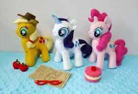 mlp my pony felt patterns lot pdf felt patterns and