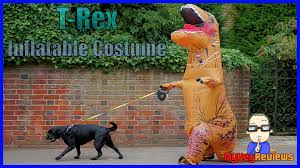 inflatable t rex dinosaur costume size set up u0026 review
