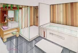 dessiner salle de bain le blog de elise fossoux décoration architecture d u0027intérieur