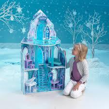 amazon black friday juguetes de disney amazon com kidkraft disney frozen ice castle dollhouse toys u0026 games