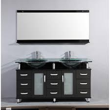 home decor 60 inch double sink bathroom vanity commercial