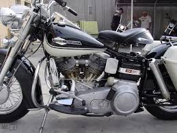 1965 police harley davidson electra glide is back from the dead