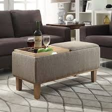 Taupe Ottoman Taupe Ottomans Storage Ottomans For Less Overstock