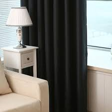 2pcs black out curtain living bedroom curtain grommet curtain