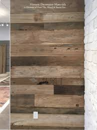 reclaimed engineered architectual mixed width floors and wall