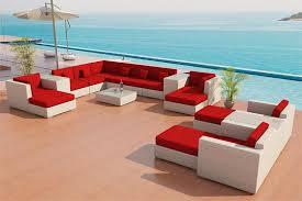 Thick Patio Furniture Cushions Sofa Outdoor Patio Furniture Set 25