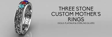 3 mothers ring custom 3 family rings s rings