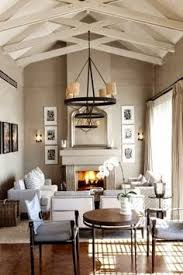 neutral living area with an interesting paint treatment on the
