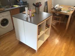 comment fabriquer un ilot de cuisine un nouvel ilot central cuisine avec kallax bidouilles ikea