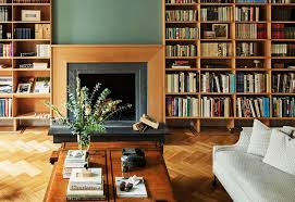 Beech Bookshelves by Intelligent Design 15 Gorgeous Rooms For Bookworms 1stdibs