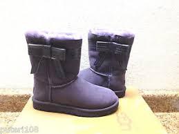 s ugg australia josette boots ugg josette purple velvet bow ribbon boot us 7 eu 38 uk 5 5