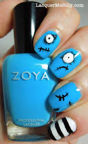 best yet scary halloween nail art designs ideas u0026 pictures 2013