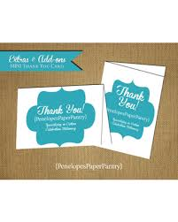 thank you card size shopping sales on custom thank you card mini thank you 3x5