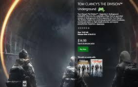 Tom Clancy S The Division Map Size The Division U0027s Underground Dlc Available Now Standalone Price