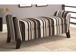 Fabric Upholstery Living Room Awesome Modern Bench Seating Living Room With Brown