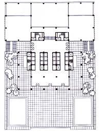 Building Site Plan 18 Best Mies Van Der Rohe Images On Pinterest Building Plans