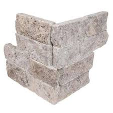 About Our Tumbled Stone Tile Gray Natural Stone Tile Tile The Home Depot