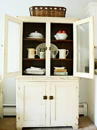 Antique Cabinets For Kitchen Give A Kitchen Character With Flea Market Finds Hgtv