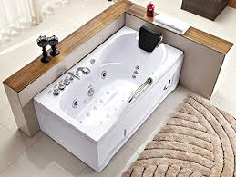60 inch white bathtub jetted bath spas saunas and more