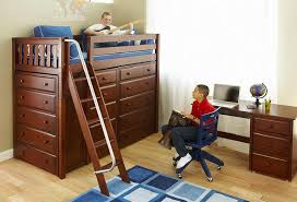 dawson twin size high storage loft bed