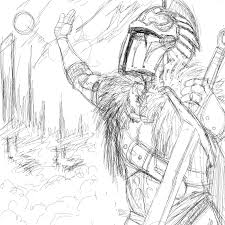 dark souls iii u2013 praise the sun sketch u2013 jay johnston