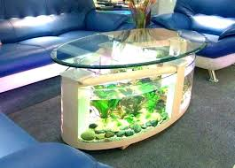 Aquarium Coffee Table Fish Aquarium Coffee Table Tank Stunning Glass Indi Idées Pour