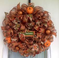 1126 best fall deco mesh wreaths images on fall deco