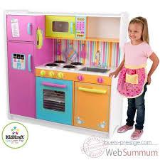 cuisine jouet grande cuisine de luxe aux couleurs vives kidkraft dans cuisine