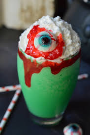 Toad Halloween Costume Eye Toad Halloween Milkshake Recipe Wonkywonderful