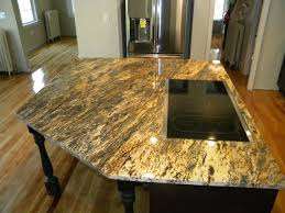 Kitchen Island Granite Countertop Beautiful Custom Hurricane Granite Kitchen The Cobblers