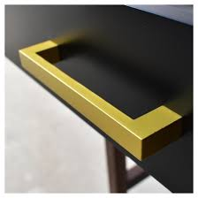 Yellow Console Table Guthrie Two Tone Console Table Matte Black Project 62 Target