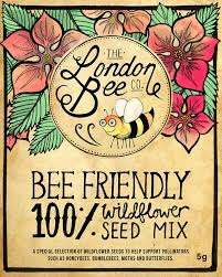 wildflower seed packets 100 bee friendly wildflower seeds the london bee company