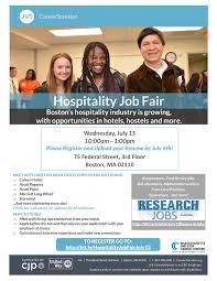Skills For Housekeeping Hospitality Job Fair Job Search Skills