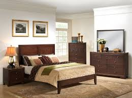 Marble Top Dresser Bedroom Set B205 Bedroom Set In Cherry Finish W Faux Marble Top Casegoods