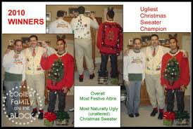 ugly sweaters coolest family on the block