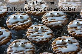 quick and easy semi homemade halloween oatmeal cookies the