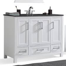 43 Vanity Top With Sink 41 To 45 Inch Bathroom Vanities You U0027ll Love Wayfair