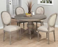 Stunning Gray Round Dining Table Inspirations Also Sets And Chairs