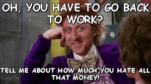 Get Back To Work Meme - get back to work the insyder the teeniez voice