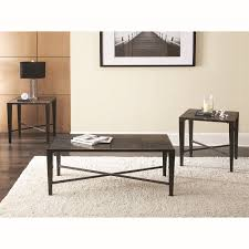 steve silver coffee table coffee table steve silver bx3000 baxter 3 piece coffee table set