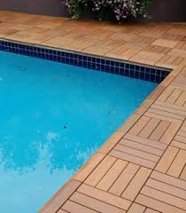 how to use architrex deck tiles to build swimming pool decks