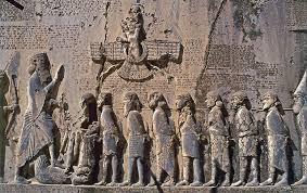 rosetta stone date carved inscription found bisitun iran culture achaemenid date