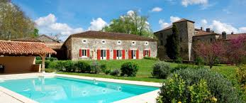 spacious guest house with swimming pool gascony manor house
