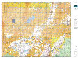 Topographic Map Of Utah by Southwest Desert S Map Mytopo
