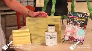 annie sloan chalk paint english yellow youtube