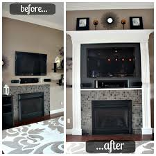 How To Lay Brick Fireplace by Diy Brick Fireplace Updates Spazio La U2013 Best Interior And